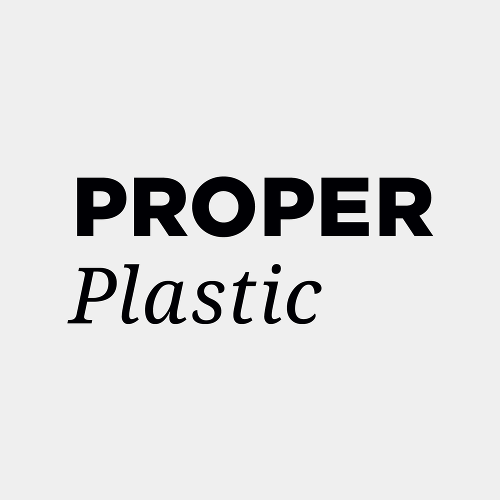Proper Plastic  is Armenia's first sustainable design lab that innovatively addresses plastic pollution and waste management by converting waste plastic materials into commercially viable products and increasing environmental awareness through a series of educational activities.