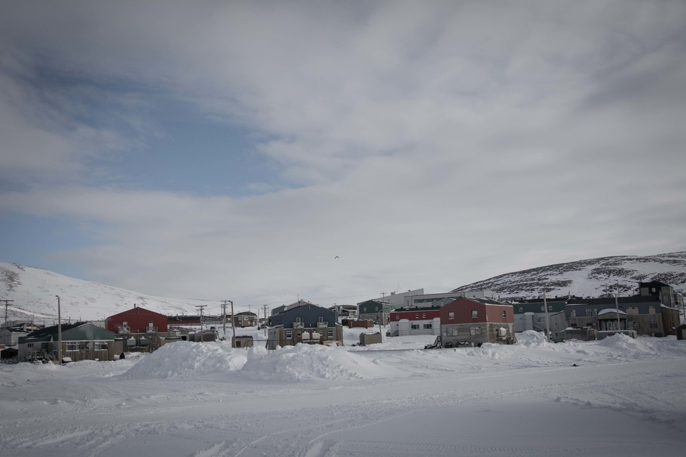 The Northern Village of Kangiqsujuaq. Taken by Eva Wu