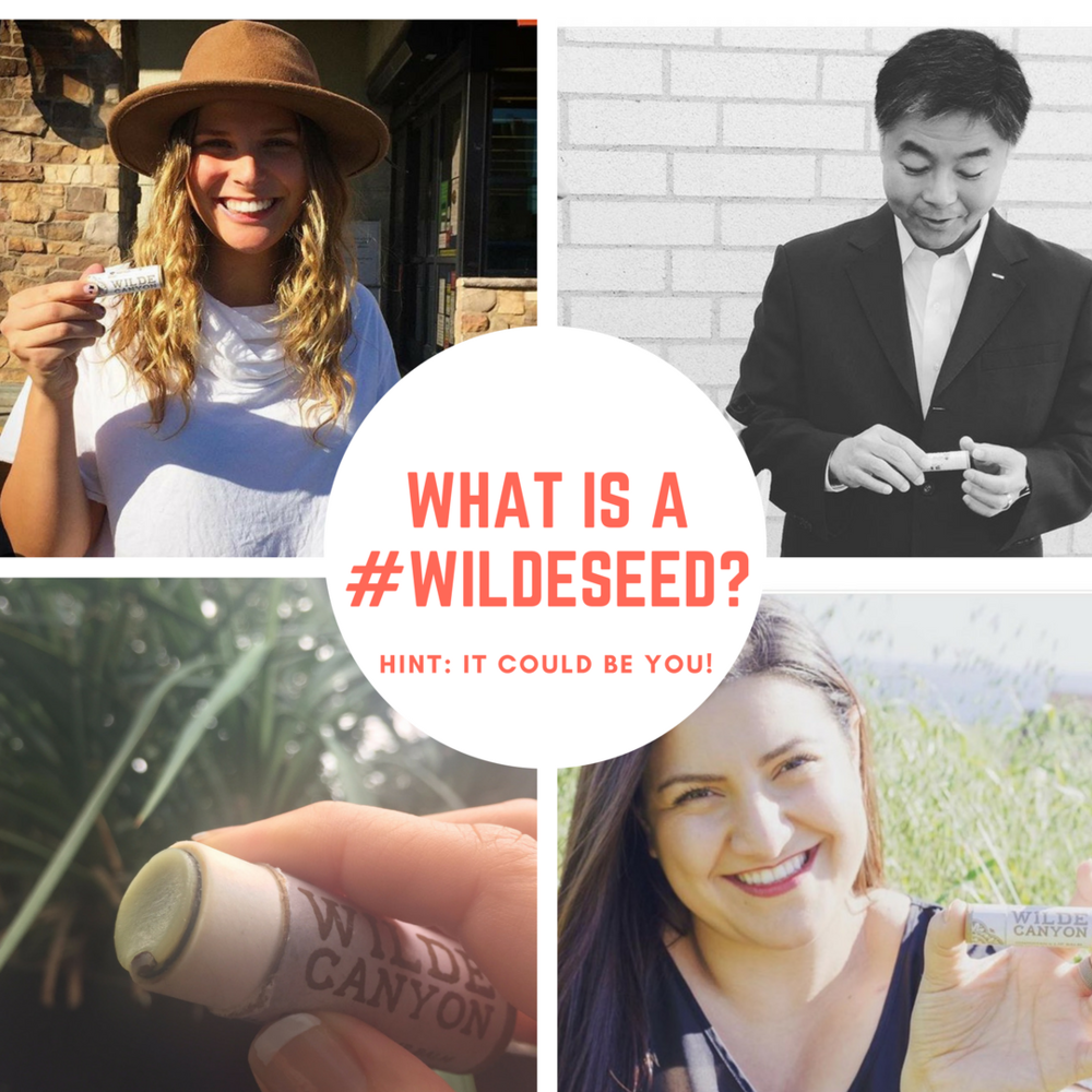 You are a wildeseed! Wildeseeds are all around us! Being planted every day, every minute and growing, always growing!