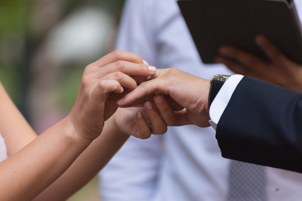 YOUR VOWS - 'Til death due us part'. Or whatever you choose to include in your vows. Make them your own, or repeat the traditional. Stand in front of you family and friends and make promises to each other that will last your lifetime.