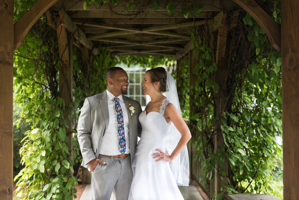 NEWLYWEDS - If you didn't do a 'first look', cocktail hour is the time to get away and capture those couples portraits. Enjoy the sprawling grounds of your venue or drive to a nearby location for photos of the bride and groom having been just married.