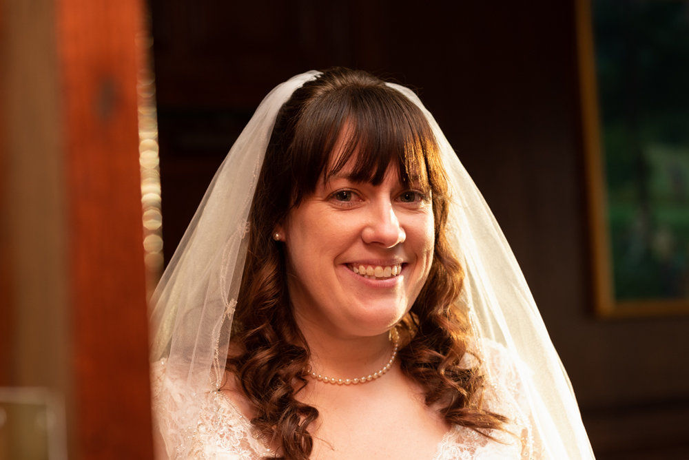 PORTRAITS - You look your best, and you should feel your best, on the happiest day of your life. I can capture your smile, excitement, and elegant beauty in bridal portraits before the emotion of the ceremony.