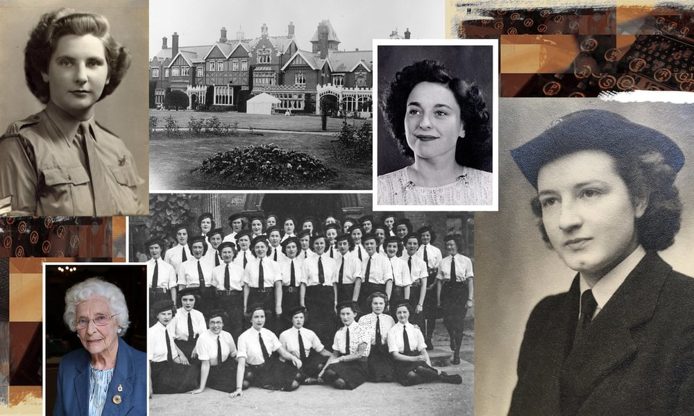 THE GUARDIAN: MEET THE FEMALE CODEBREAKERS OF BLETCHLEY PARK
