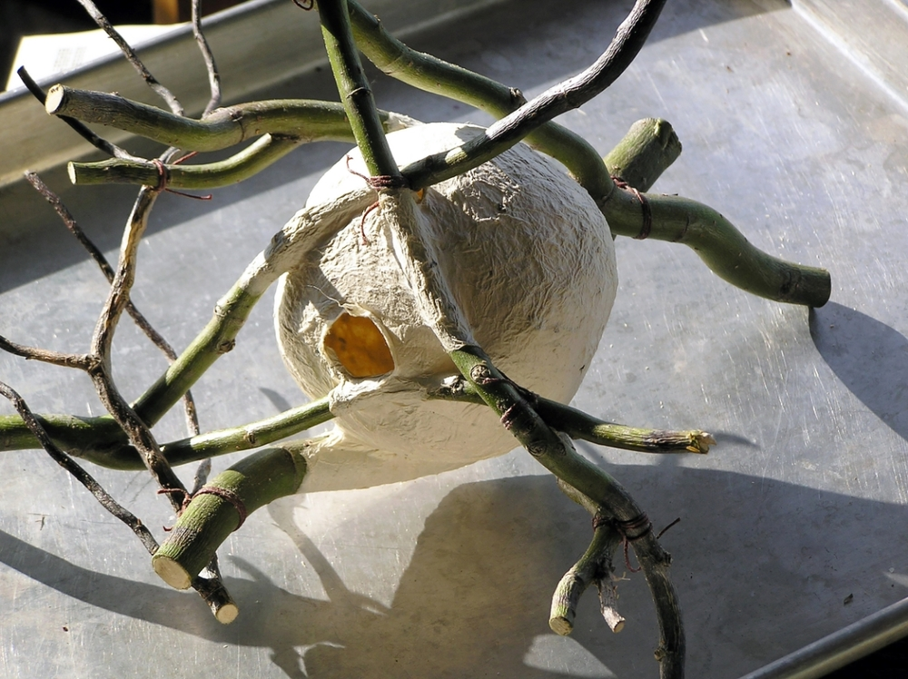 Beautiful organic sculpture by Anita Drexler
