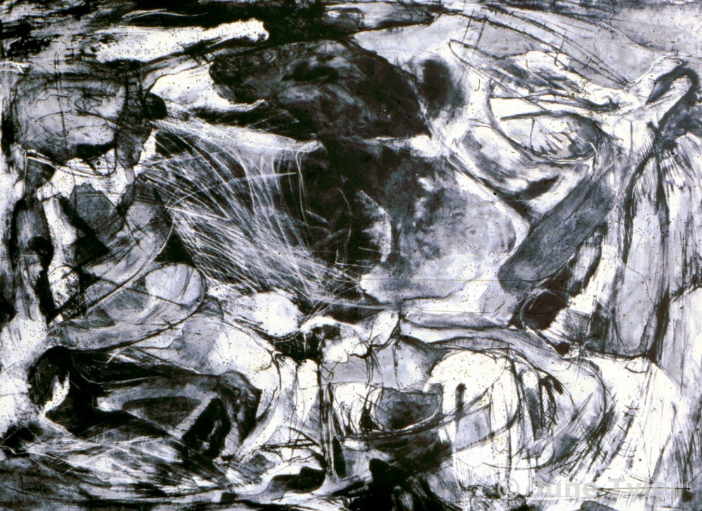 """""""A Solitary Prelude #3"""" Lithograph 1978 22"""" x 28"""""""