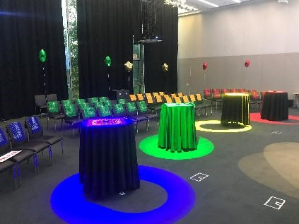 Fun game show team building events