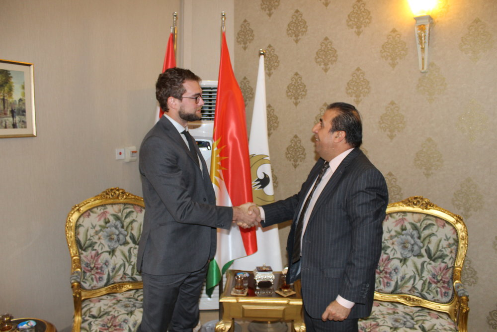 Shared Goals: HERA's President meets with Mr. Akram Jamo, Head of of the Department of NGOs for the Kurdish Regional Government