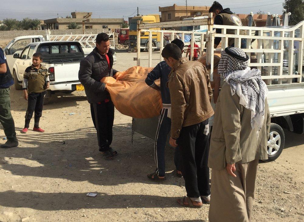 HERA delivering aid