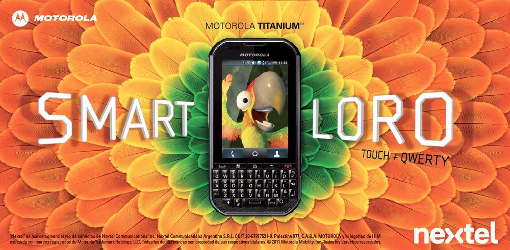 Billboads – Motorola Titanium