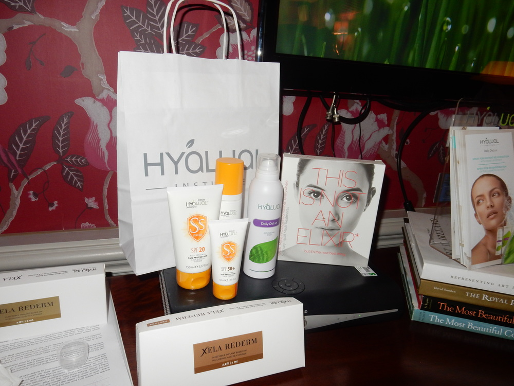 hyalual institute press day beauty blogger