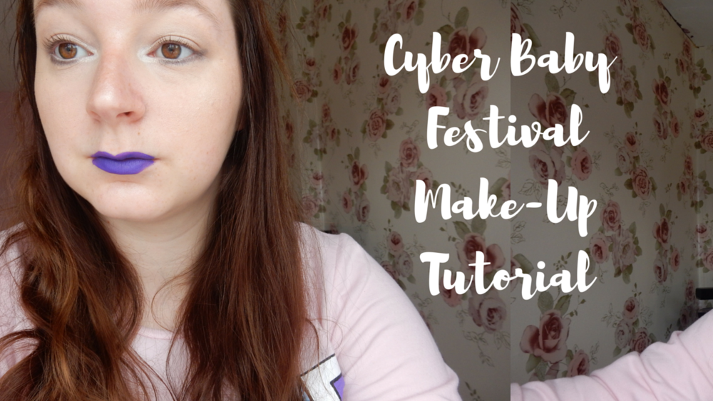 beauty blogger cyber baby festival makeup tutorial