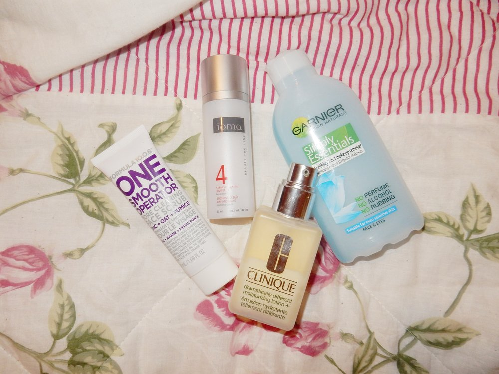 winter skin prep routine beauty blogger