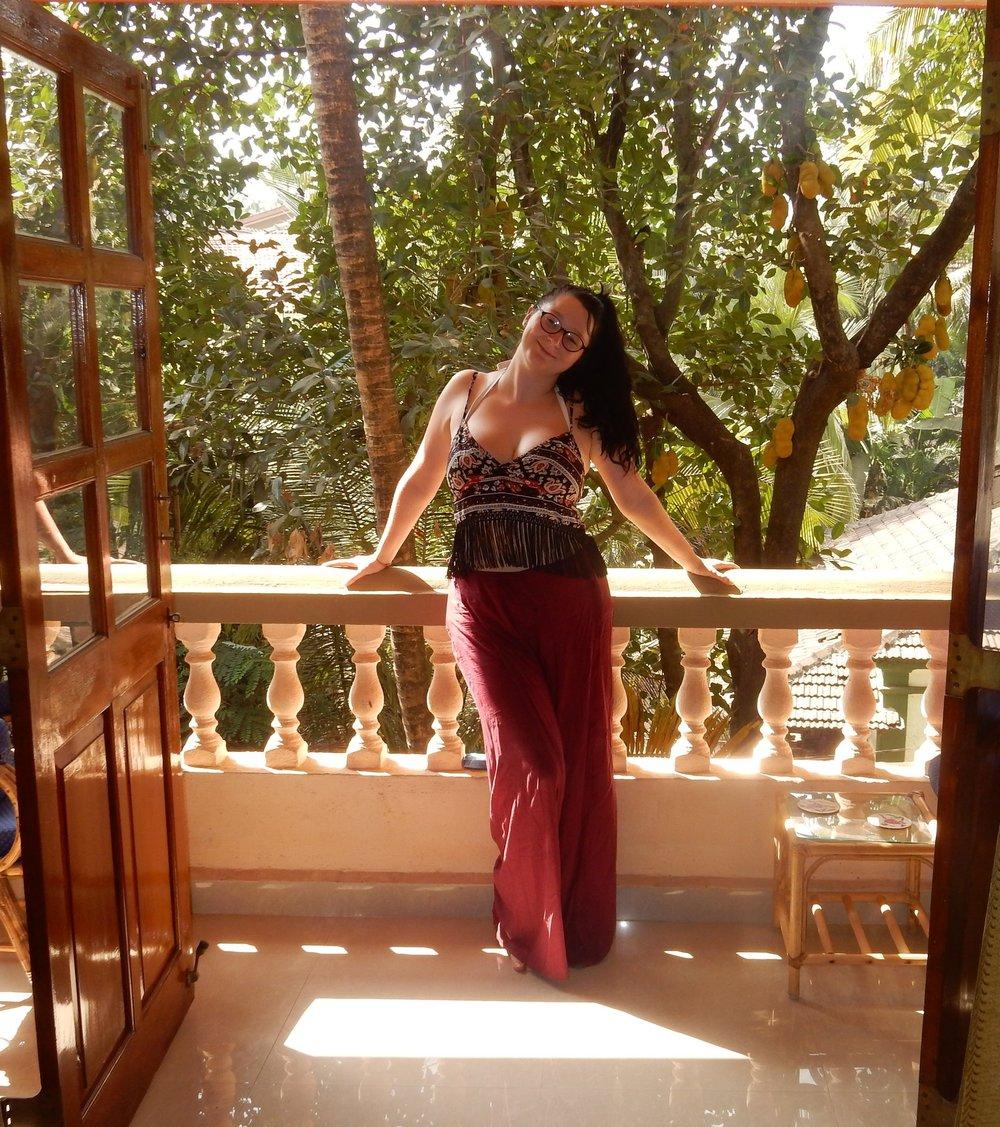 fashion blogger holiday ootd india