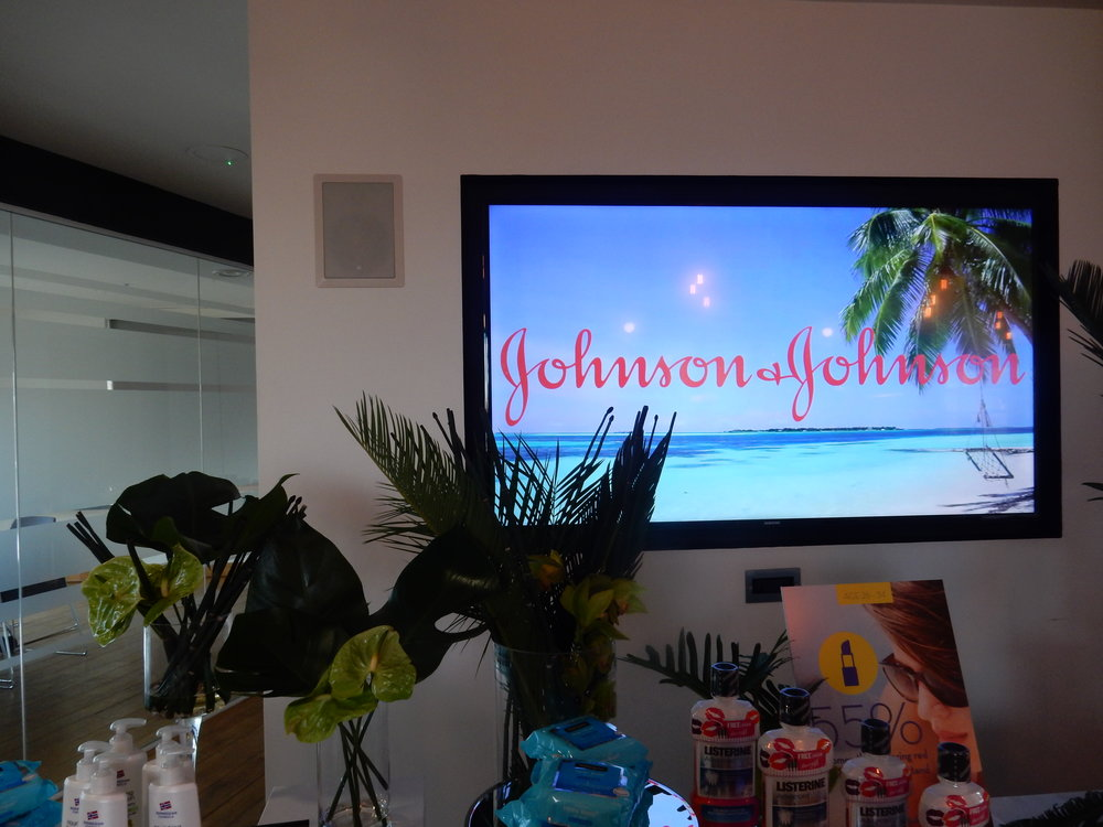 beauty blogger event johnson and johnson