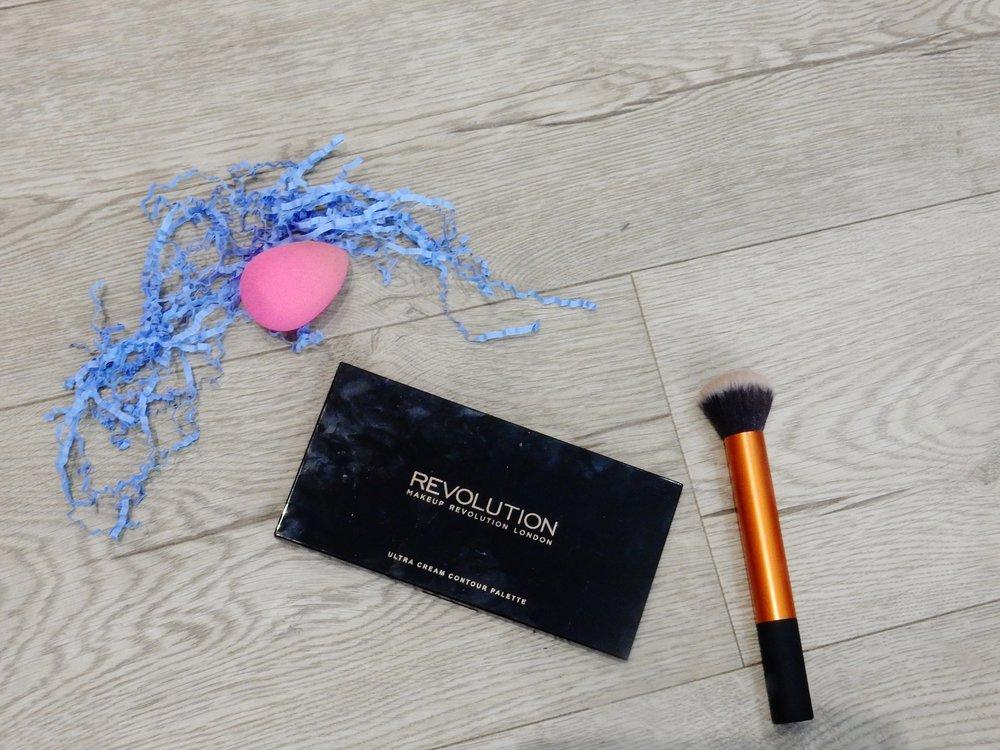 Makeup Revolution Ultra Cream Contour Palette Review Beauty Blogger