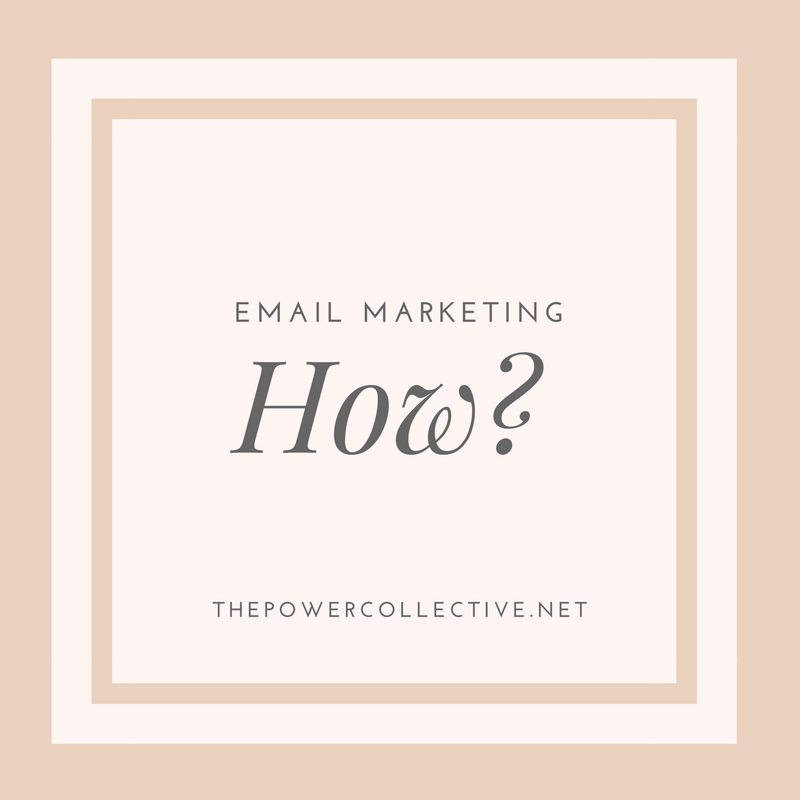 How do you get started with email marketing?