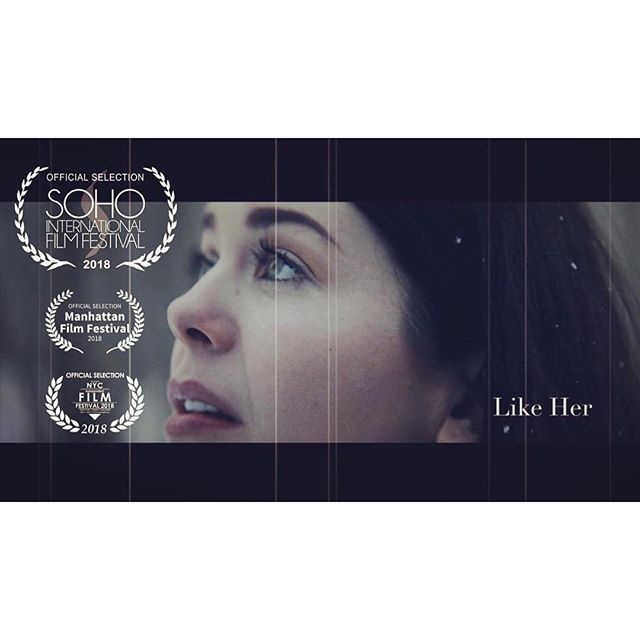 "Super proud to see @thespiritprince and @elizalaytner 's film ""Like Her"" (with music by yours truly) is screening at the @sohofilmfest as part of the NY Filmmaker Series in Exhibition!  #filmmusic #filmcomposer #indiefilmmaking #indiefilm #nyfilm"