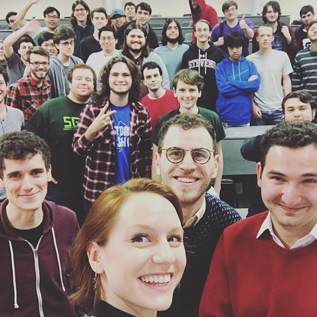 We had a fantastic night on Tuesday hanging out with the Stevens Institute of Technology game development club talking about how we created #WhereShadowsSlumber. . . . #indiegame #indiegamedev #gamemusic #gameaudio #composer #sounddesign #puzzlegame #mobilegame