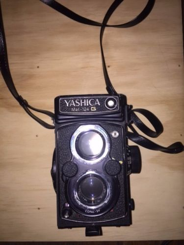 My next to new Yashicamat.