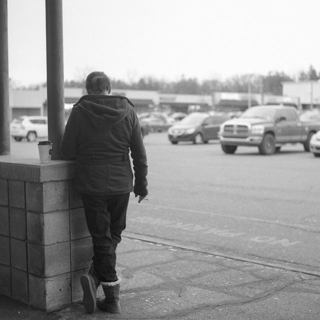 Smoking is bad kids. Shot on Yashicamat 124G and Kodak Tri-x 400.