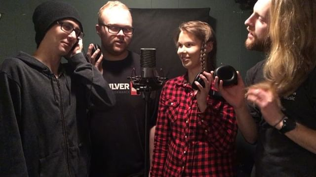 Adding some #punch to the new single with #gangvocals . As soon as we can decide on what the lyrics are... #studio #diy #newsingle #summersingle #minivandal #weknowwhatweredoing #mostly #outtakes #fireinthebooth #yxemusic #saskmusic #saskatchewan #recording #newmusic