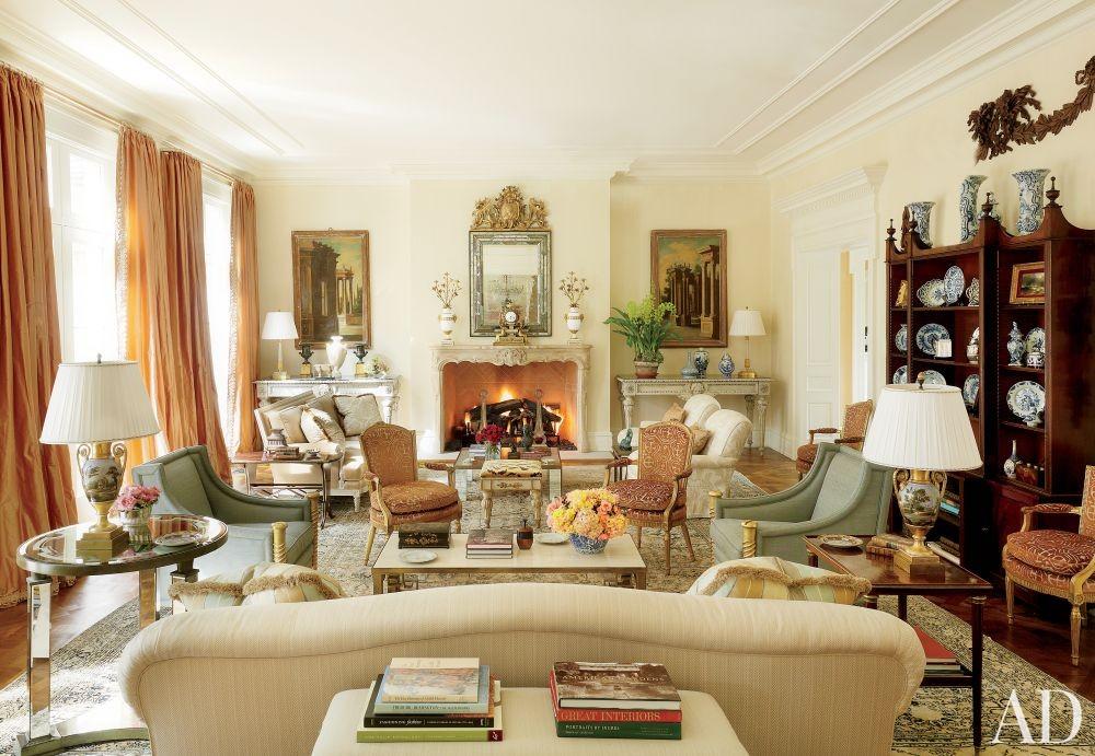 Traditional Living Room Bunny Williams Inc Richmond Virginia