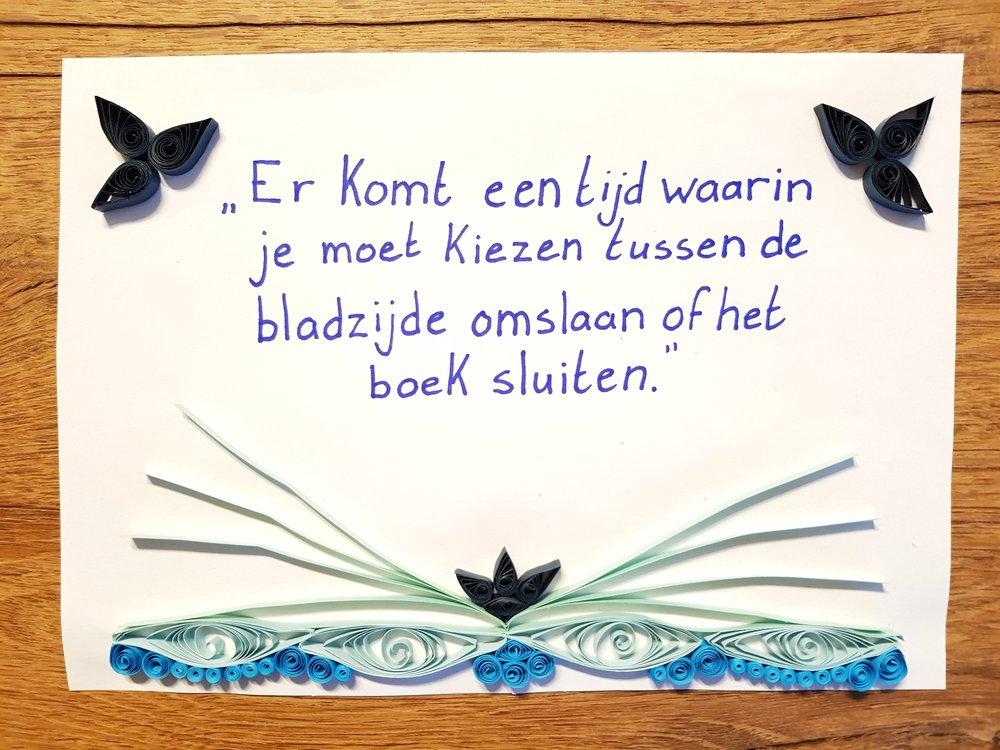 quote boek