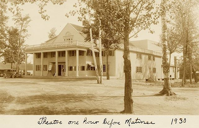 http://bit.ly/disclakewd  Join me in discovering #Maine 's iconic Lakewood Theatre... #skowhegan #history #vintagepostcard #mainehistory #broadwayhistory #silentfilm #newblogpost