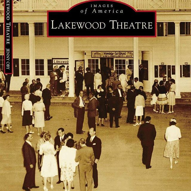Lakewood Theatre book cover! Arcadia Publishing has set the production date for June/July of 2017. Stay tuned for details! :)
