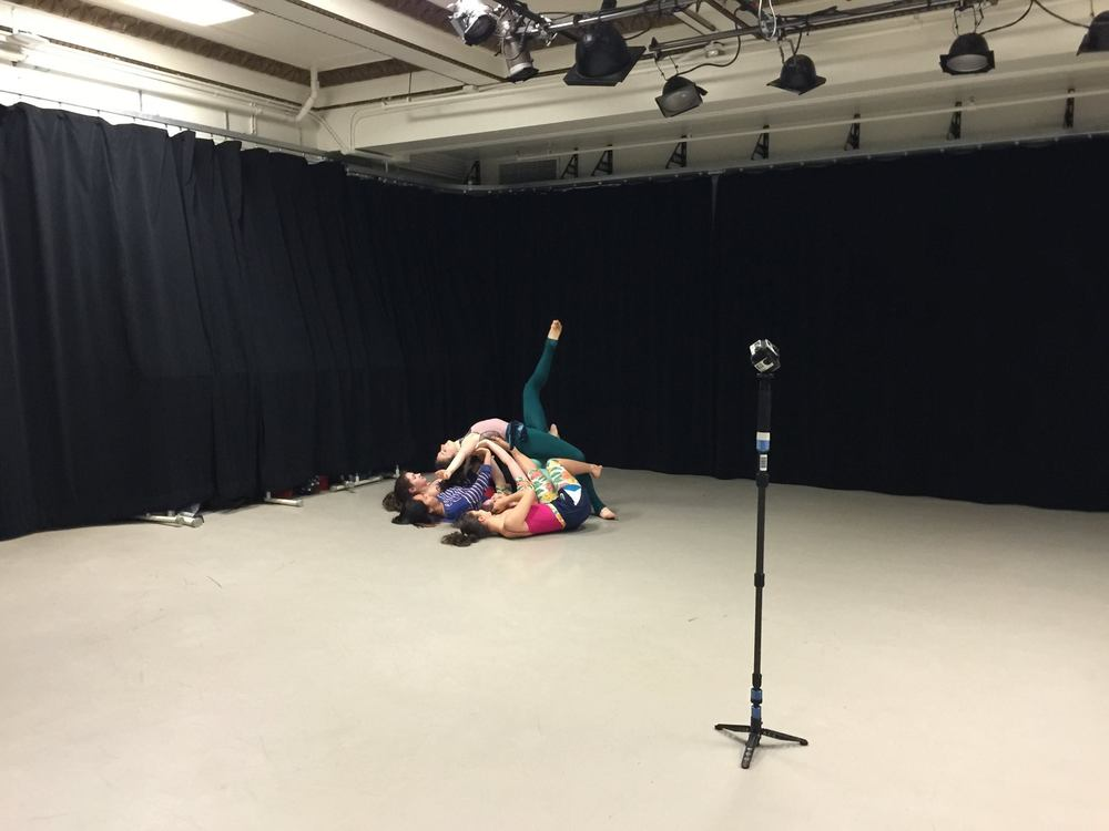 360 degree video class at NYU Tisch, 2015