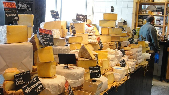 Cheese Cellar Merchandising