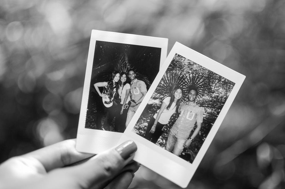 Mis asistentes y yo.Faltó Jogenny en la polaroid! / Fotos por Otto Santos (@ottosantosrd)