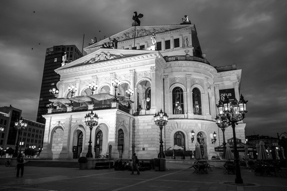 Opera House, Frankfurt, Alemania.