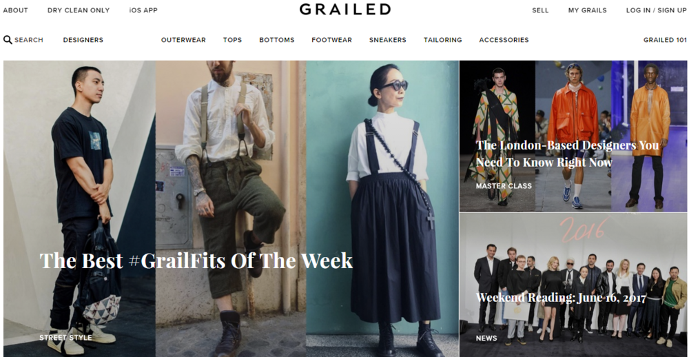 grailed consignment store