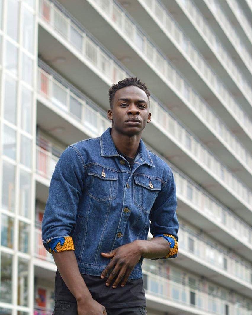 African Soweto Denim Jacket