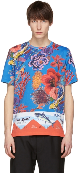 Hawaiian Print Shirt, ($165) by Paul Smith