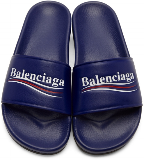 Campaign Pool Slides ($595), by Balenciaga