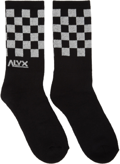 Modello B Checkerboard Socks ($22), by Alyx