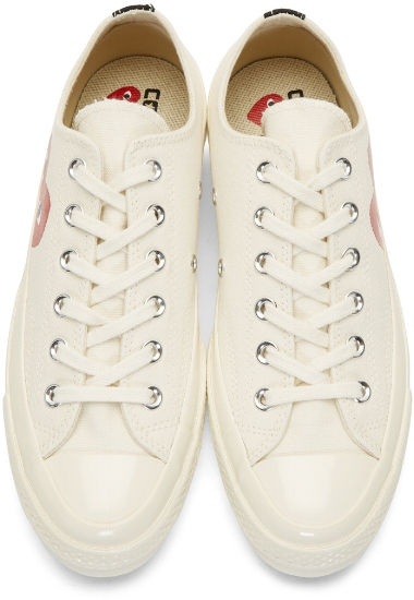 Chuck Taylor All-Star '70 Sneakers ($135), by Off-White/Comme des Garçons Play
