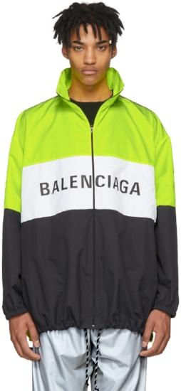 Logo Track Jacket ($1150), by Balenciaga
