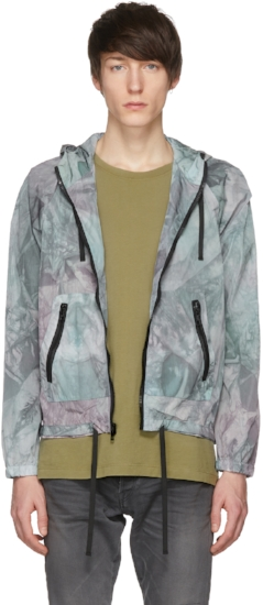 Tie Dye Shell Jacket ($245), by John Elliott