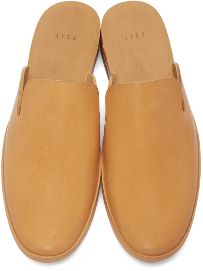 Hand Sewn Slide Loafers ($420), by Feit