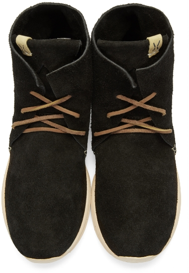 Huron Moc Hi-Folk Boots ($537), by Visvim