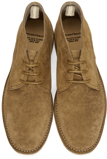 Suede Standard Boots ($306), by Officine Creative