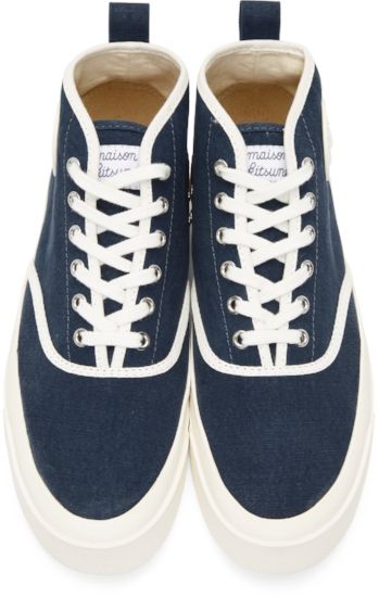 High-Top Sneakers ($163), by Maison Kitsuné