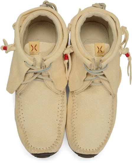 Off-White FBT Moccasins ($820), by Visvim