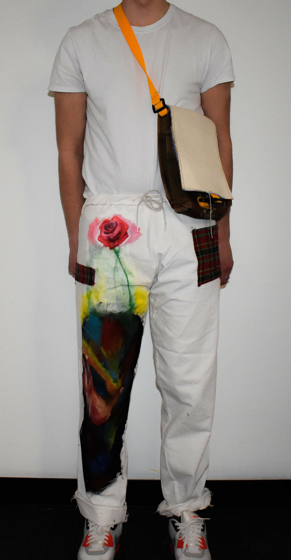 Hand-Painted Pants