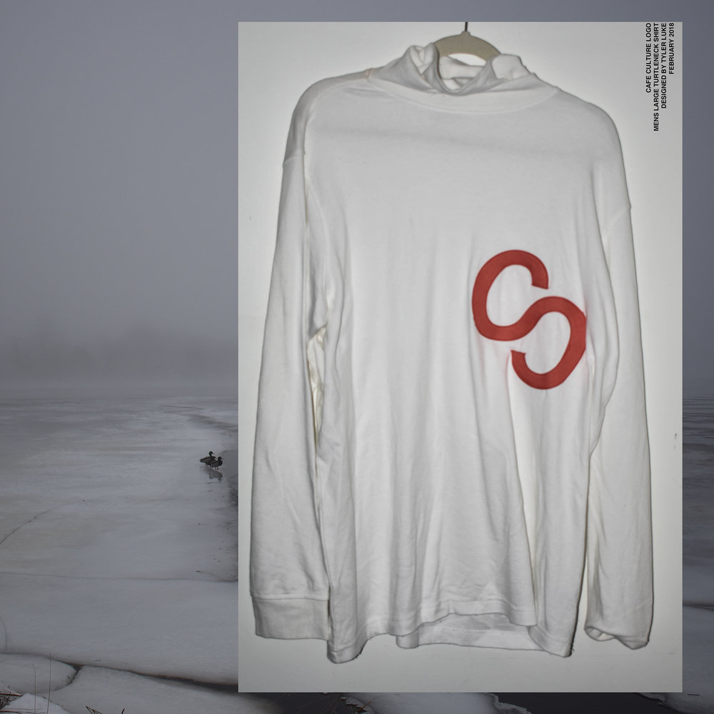 Cafe Culture Logo Turtleneck