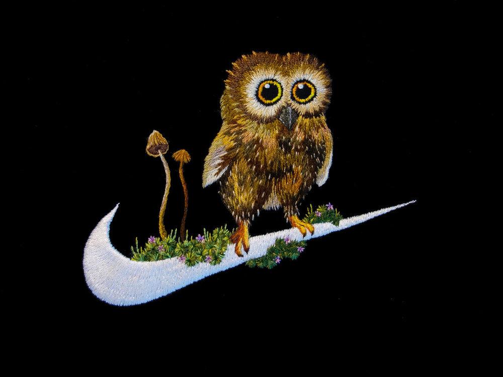 Nike\Baby Owl & Magic Mushroom\   jtmerry.com