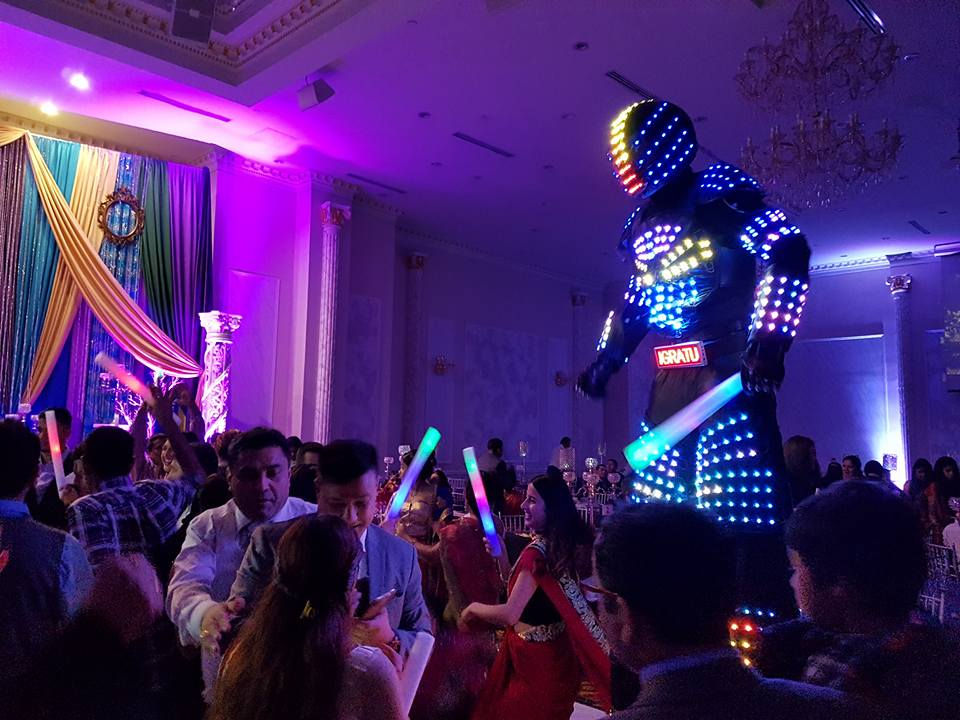 TI Bots - LED Robot - Wedding Entertainment - Toronto.jpg